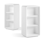 Illuminated shelves BARTOLOMEO DISPLAY