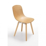 ŽIDLE PURE LOOP 3D WOOD WOODEN LEGS