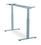 Adjustable office table frames