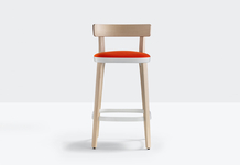 Upholstered bar stool FOLK