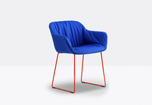 Replaceable upholstered cover for BABILA XL armchair